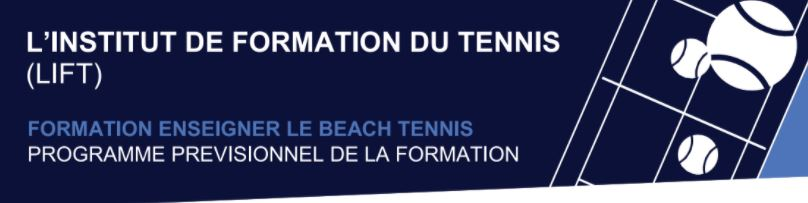 Formation Enseigner le Beach Tennis.9/10/11/12 Mai à Gradignan