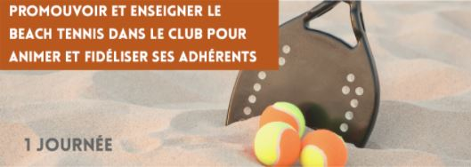 Journée de formation Beach tennis 26 Mars 2021. Ligue de Bretagne