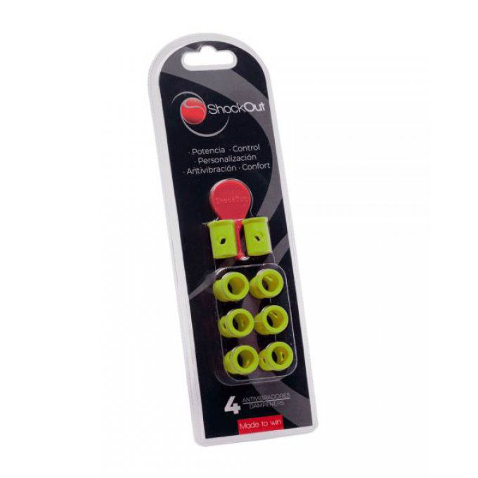 Anti vibrateurs Padel SHOCKOUT JAUNE