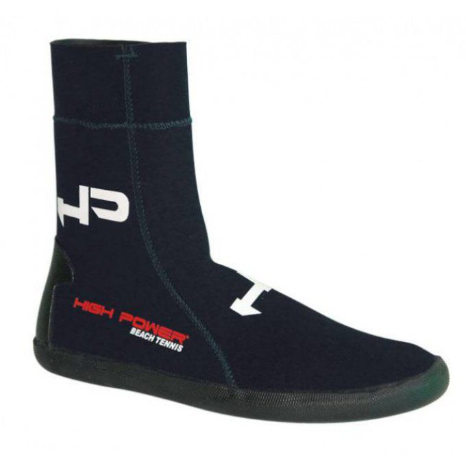 Chaussons de beach tennis HP NEOPRENE NOIR