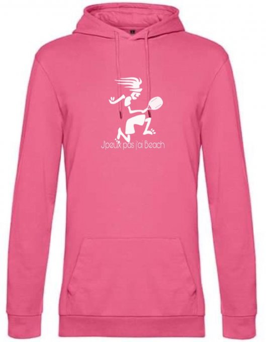 Sweat-shirt Beach Tennis Femme J'peux pas j'ai Beach