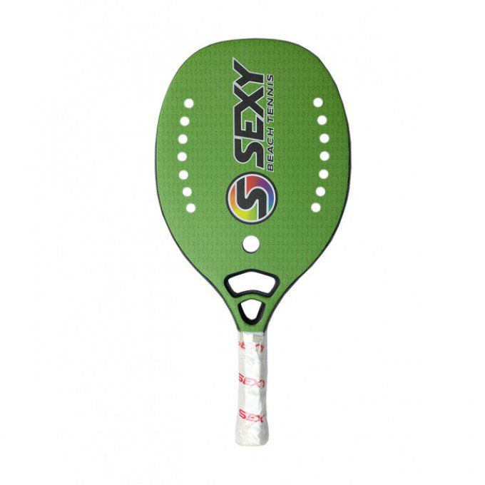 Raquette de Beach tennis SEXY HEX GREEN